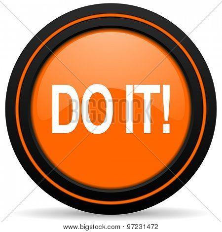 do it orange icon