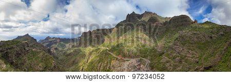 Panorama Of Tenerife