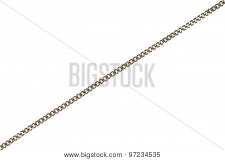 Silver Plated Chain Detail
