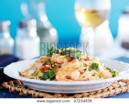 sicilian spaghetti with white wine