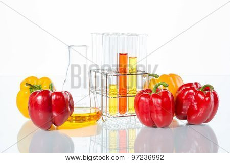 Vegetable Test,  Genetic Modification, Pepper