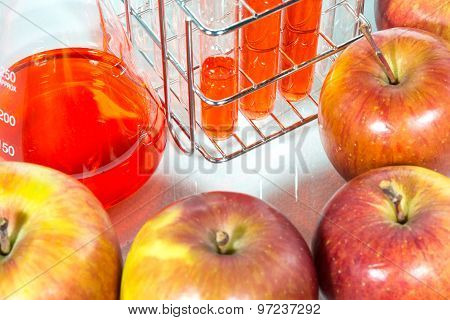 Vegetable Test,  Genetic Modification,apple