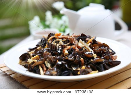 fry black fungus
