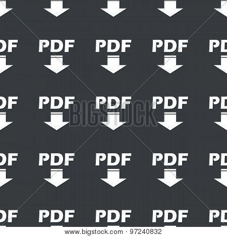 Straight black PDF download pattern