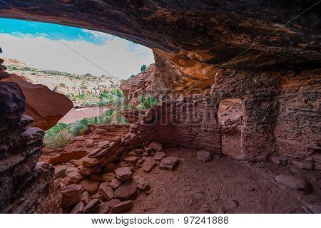 Castle Creek Indian Ruins Utah