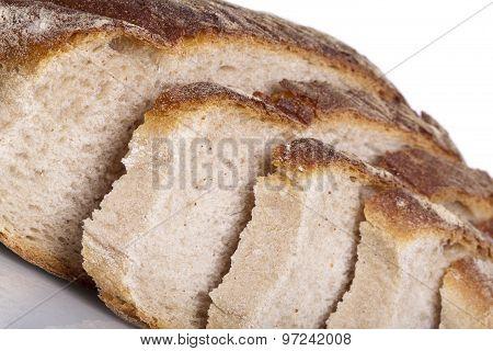 Tasty Fresh Baked Bread Bun Baguette Natural Food
