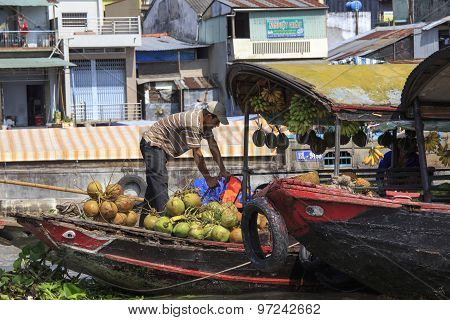 Traders On Boats