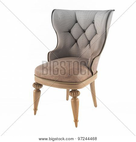 Mesh of Modern leather chair