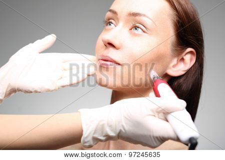 Ultrasound beauty treatment