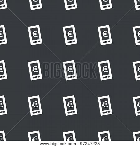 Straight black euro screen pattern