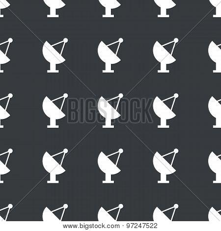 Straight black satellite dish pattern