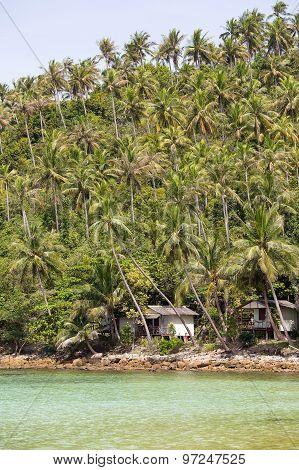 Tropical Island Koh Phangan, Thailand.