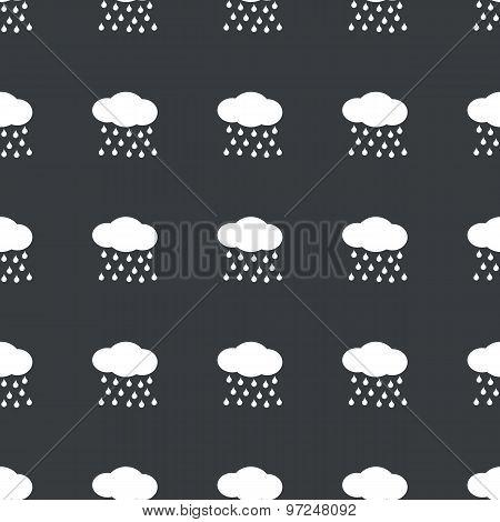 Straight black rain pattern