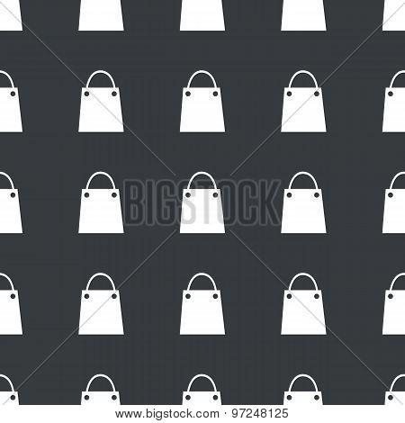 Straight black shopping bag pattern