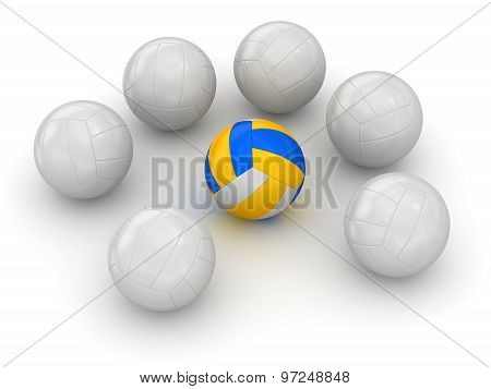Volleyball - Different Ball