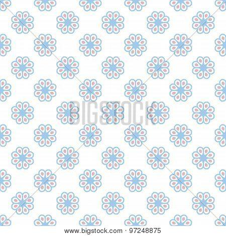 Pastel retro different vector seamless pattern