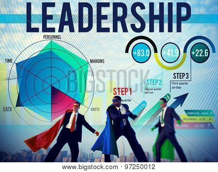 Leadership Management Responsibility Inspire Concept