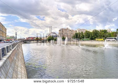 Moscow. Vodootvodny Canal