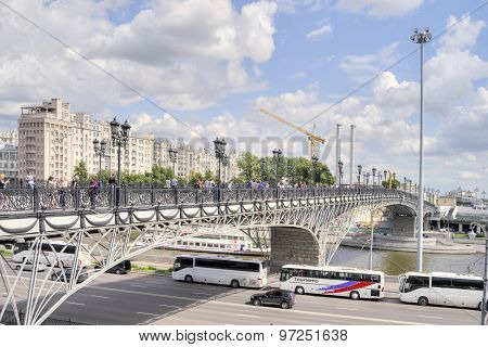 Patriarshy Bridge. Moscow