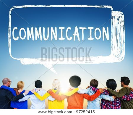 Communication Community Teamwork Team Collaboration Concept