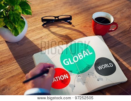 Global Nation World International Variation Unity Concept