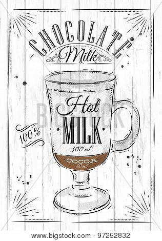 Poster Chocolate Milk