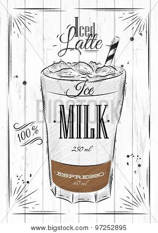 Poster Iced Latte