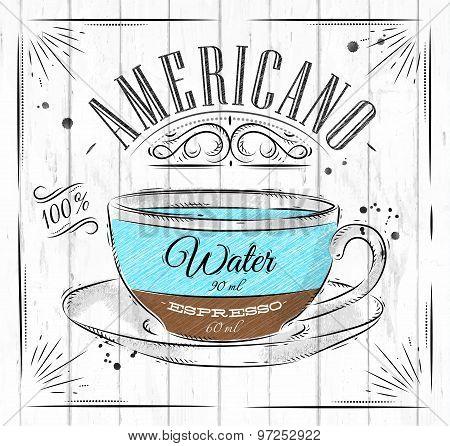 Poster Americano