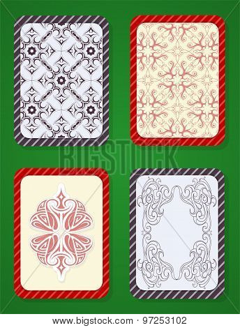 Playing card deck design