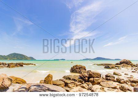 Landscape of Koh Phuket island in Thailand