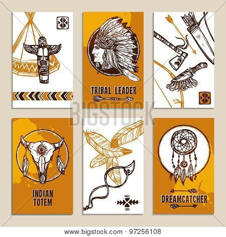 Ethnic Cards Set