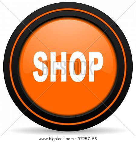 shop orange icon