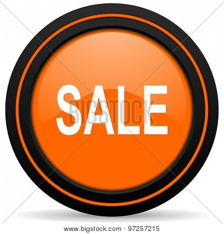 sale orange icon
