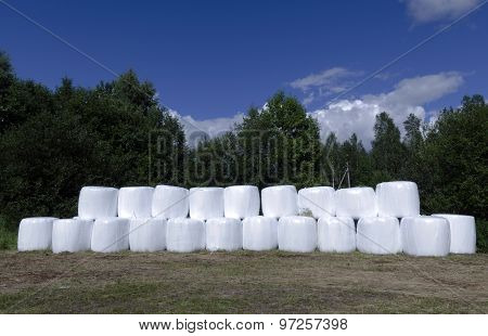 Ensilage Plastic Containers