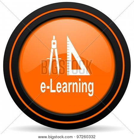 learning orange icon
