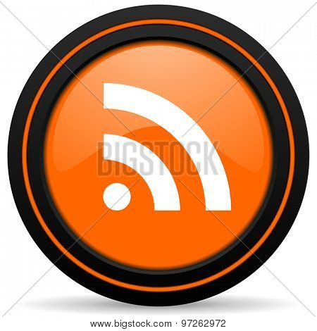 rss orange icon