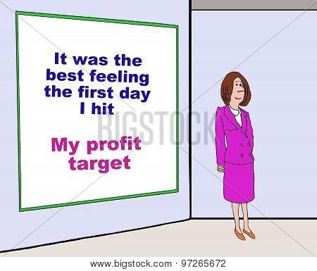 Hit Profit Target