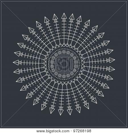 Geometric Linear Circule Logotypes649544