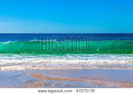 High waves