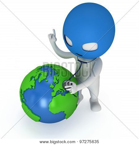 3D Thief And Earth