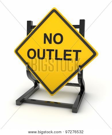 Road Sign - No Outlet