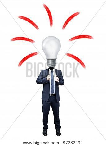 Business Man Idea