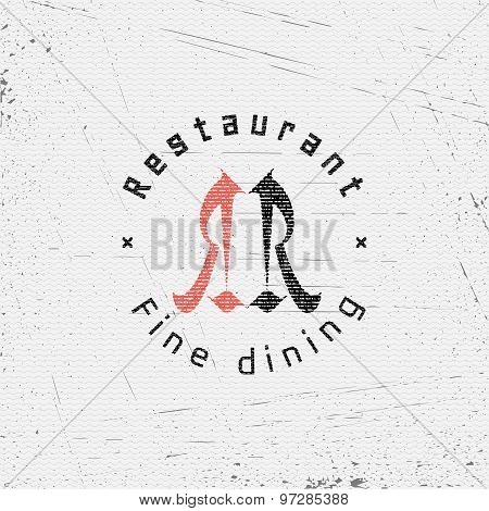 Restaurant badges logos and labels for any use