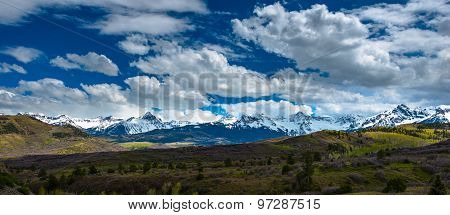 Colorado Rocky Mountains Landscape