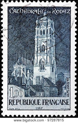Rodez Stamp