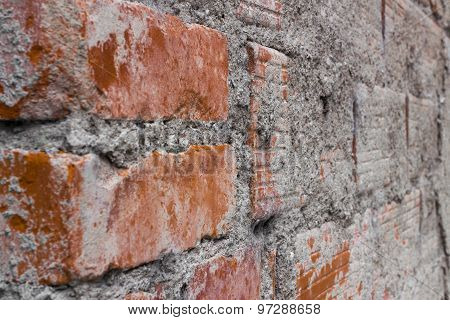 Brick And Cement