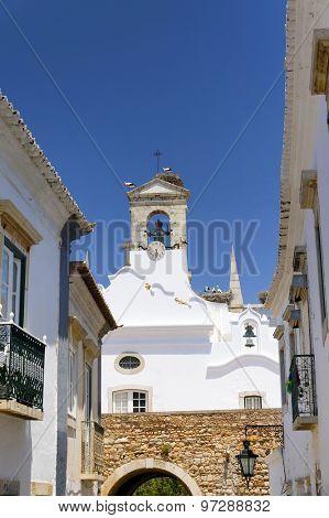 Architectural detail in Faro, Algarve, Portugal