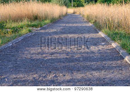Gravel Garden Walkway