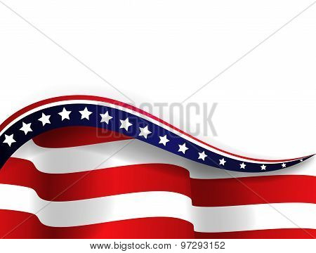 Flag of american