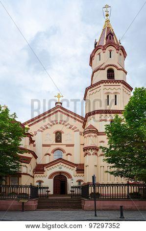 Orthodox Church Of St. Nicholas, Street Didzioji, Vilnius